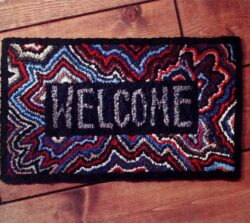 How to DIY Welcome Rug